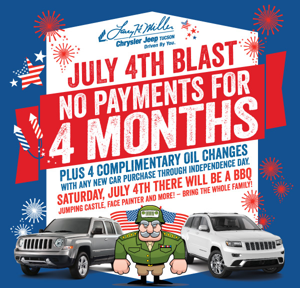 Larry H. Miller Chrysler Jeep Tucson 4th of July Blast