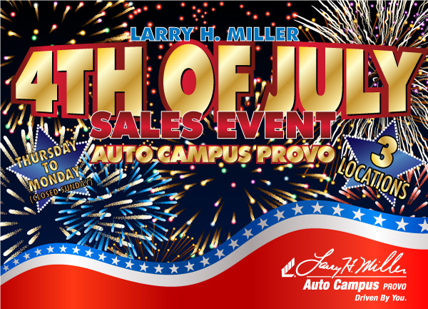Larry H. Miller Auto Campus Provo 4th of July Deals