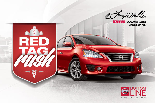 Red Tag Clearance Sale at Larry H. Miller Nissan Highlands Ranch