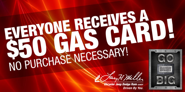 Everyone Receives a $50 Gas Card