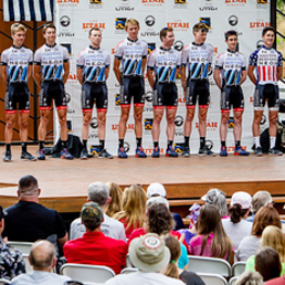 Tour of Utah Team Presentation Gallery